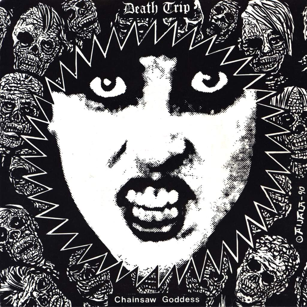 "Death Trip: Chainsaw Goddess, 7"" Single (Vinyl)"