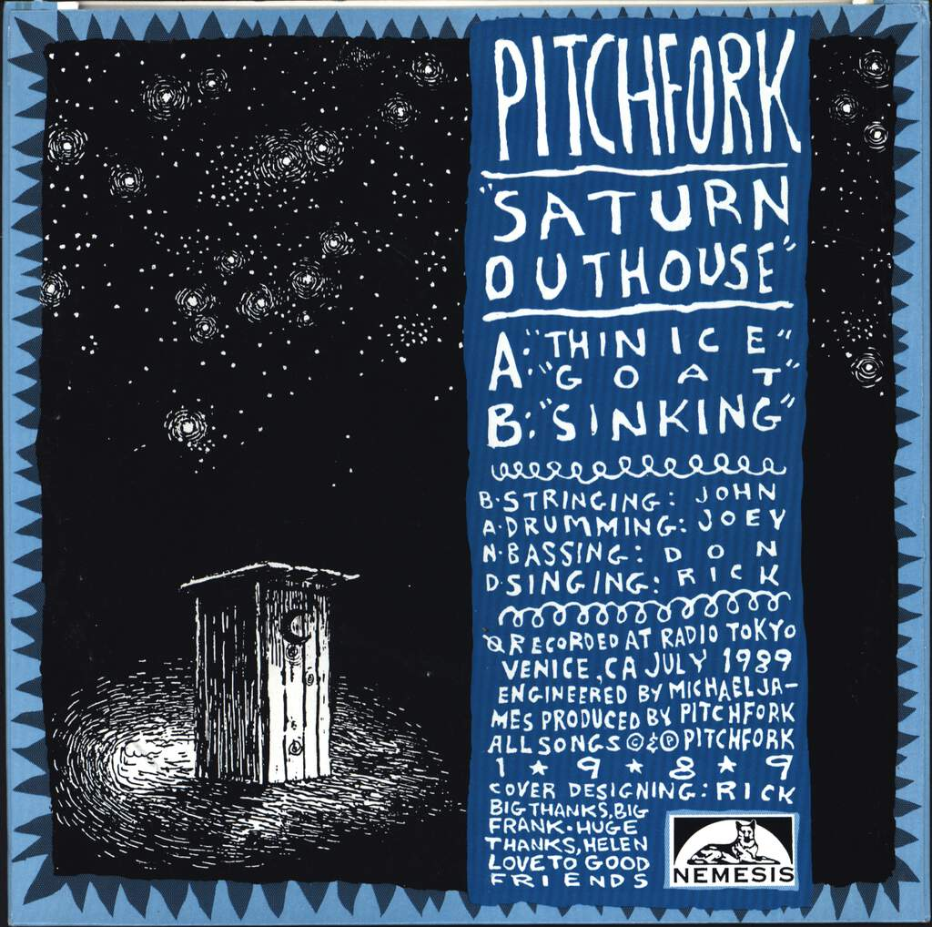 "Pitchfork: Saturn Outhouse, 7"" Single (Vinyl)"