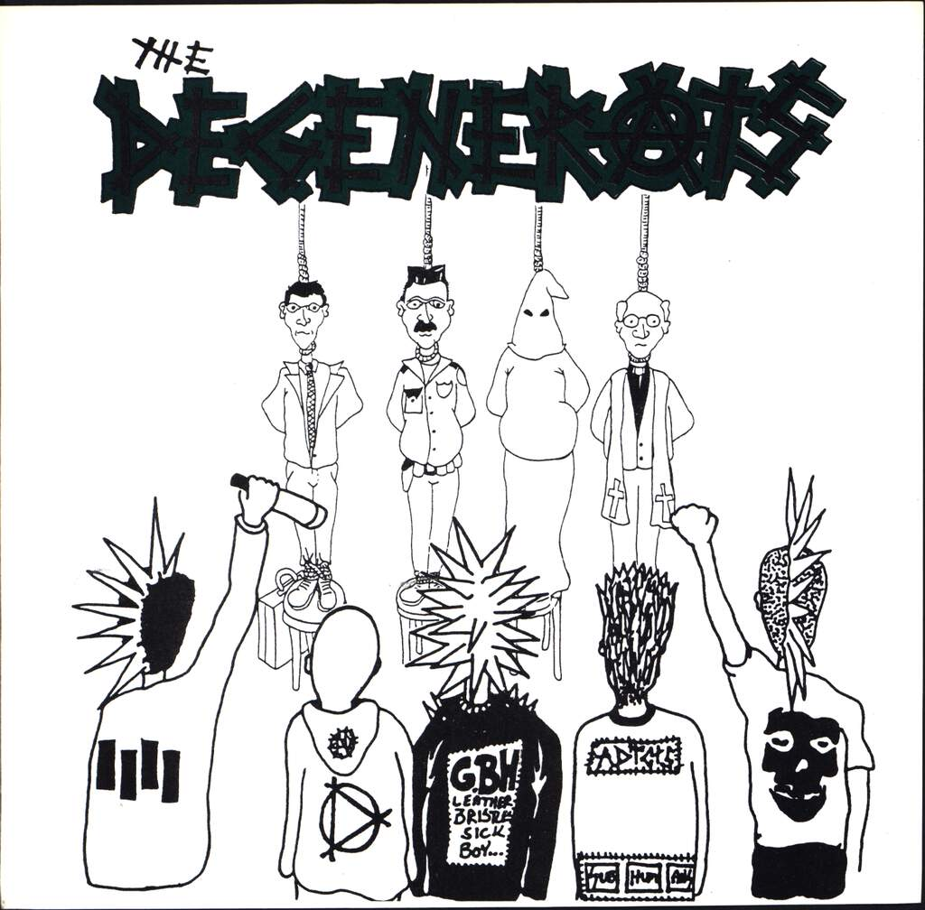 "The Degenerats: The Degenerats, 7"" Single (Vinyl)"