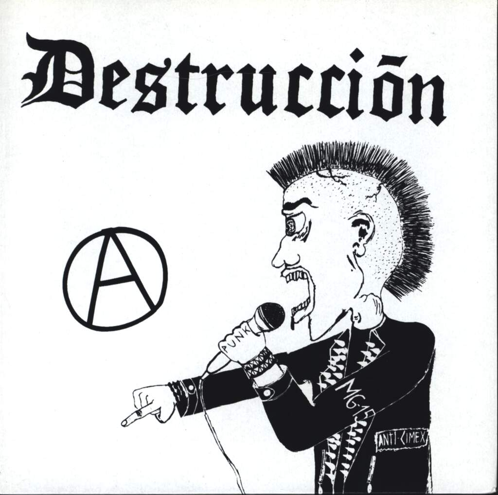 "Destruccion: Destrucción / Sida, 7"" Single (Vinyl)"