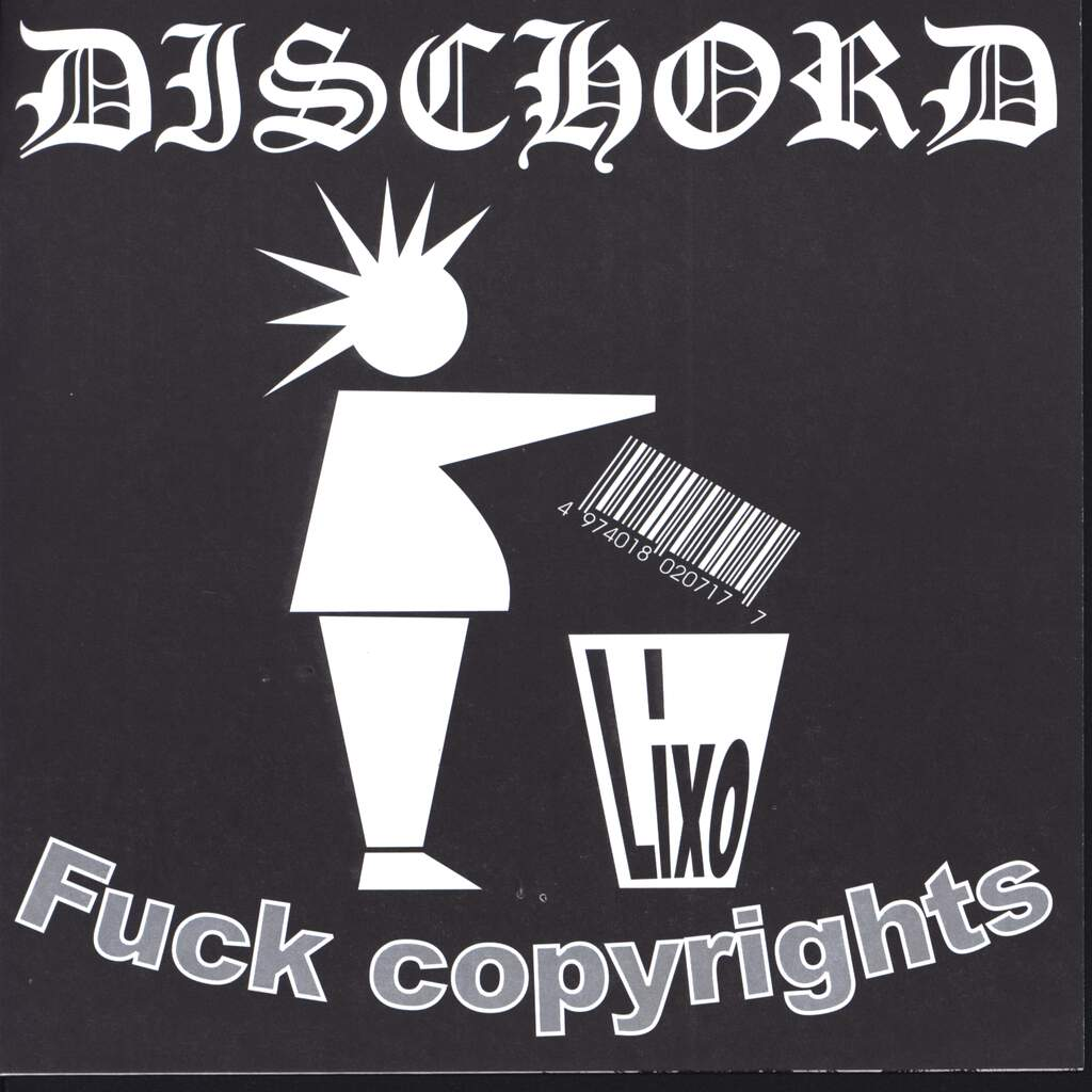 "Dischord: Fuck Copyrights, 7"" Single (Vinyl)"