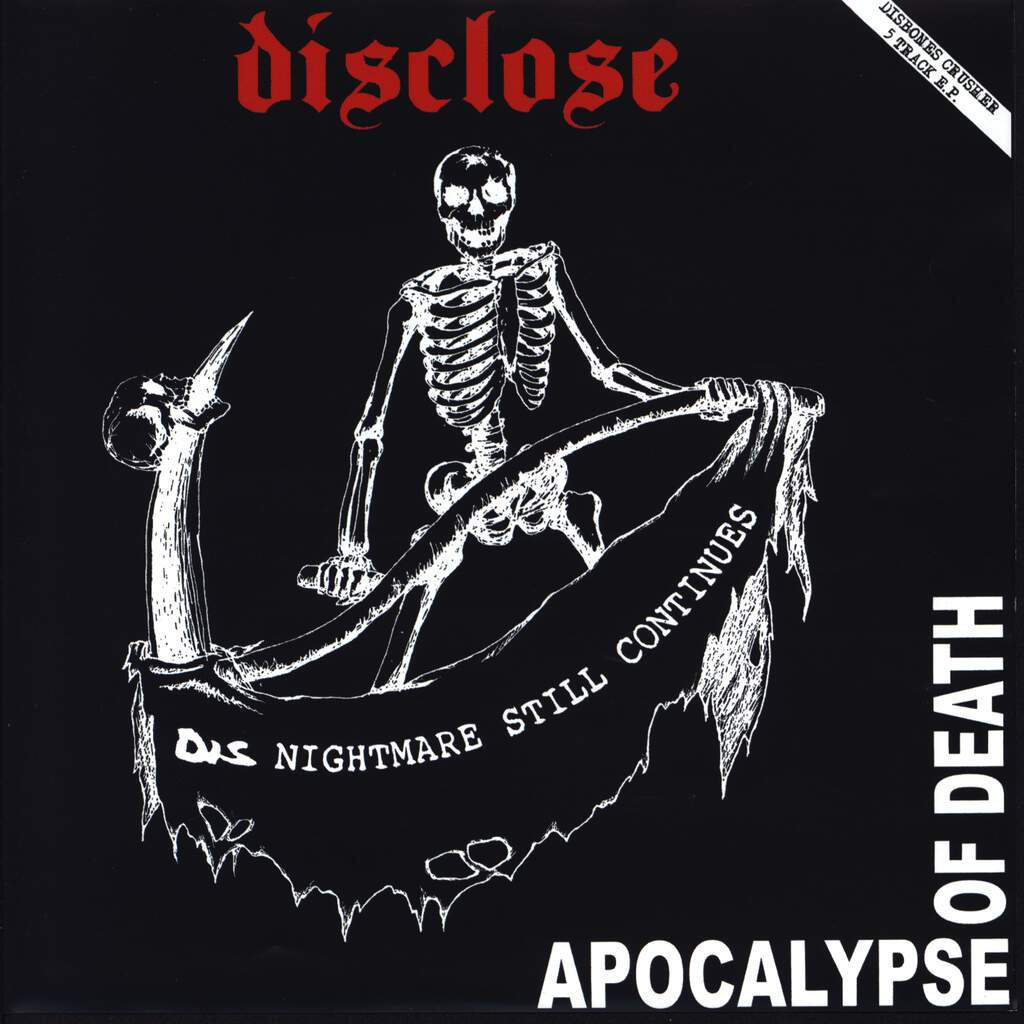 "Disclose: Apocalypse Of Death, 7"" Single (Vinyl)"