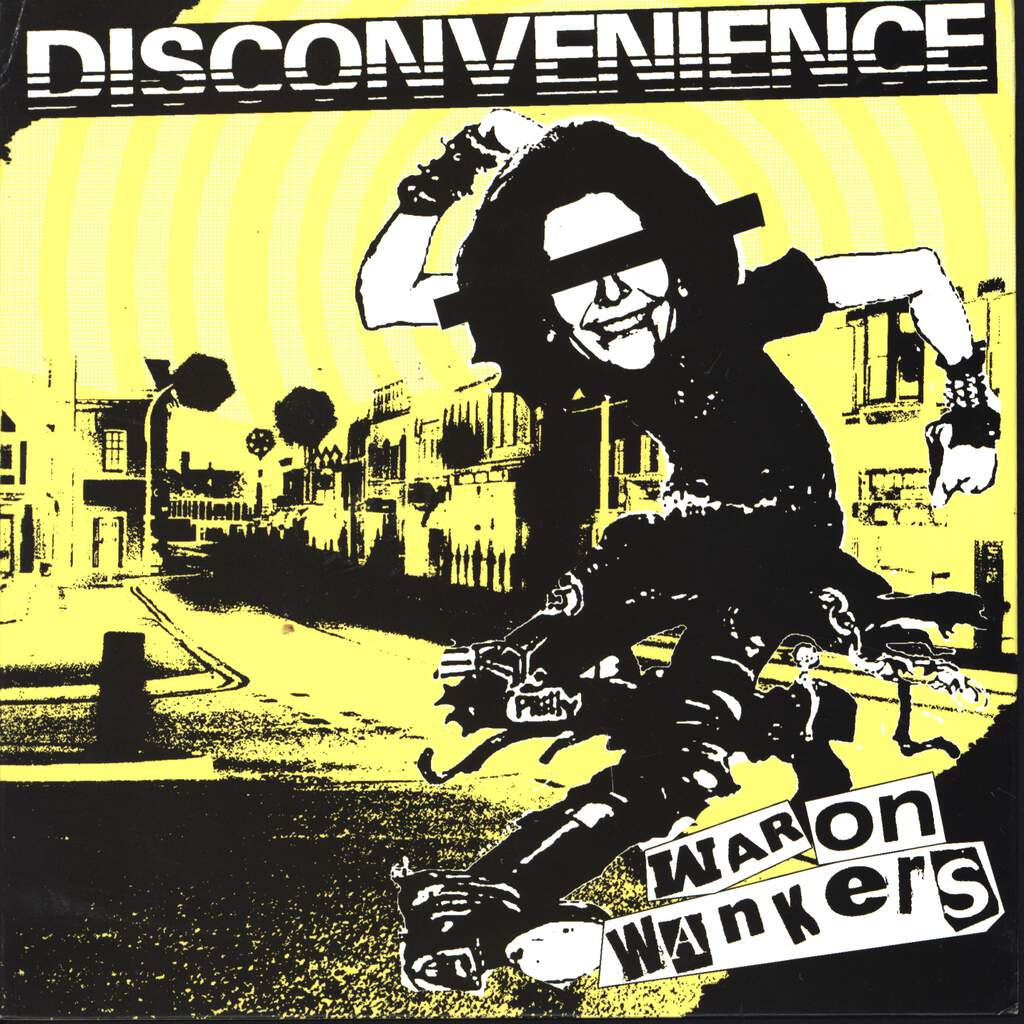"Disconvenience: War On Wankers, 7"" Single (Vinyl)"