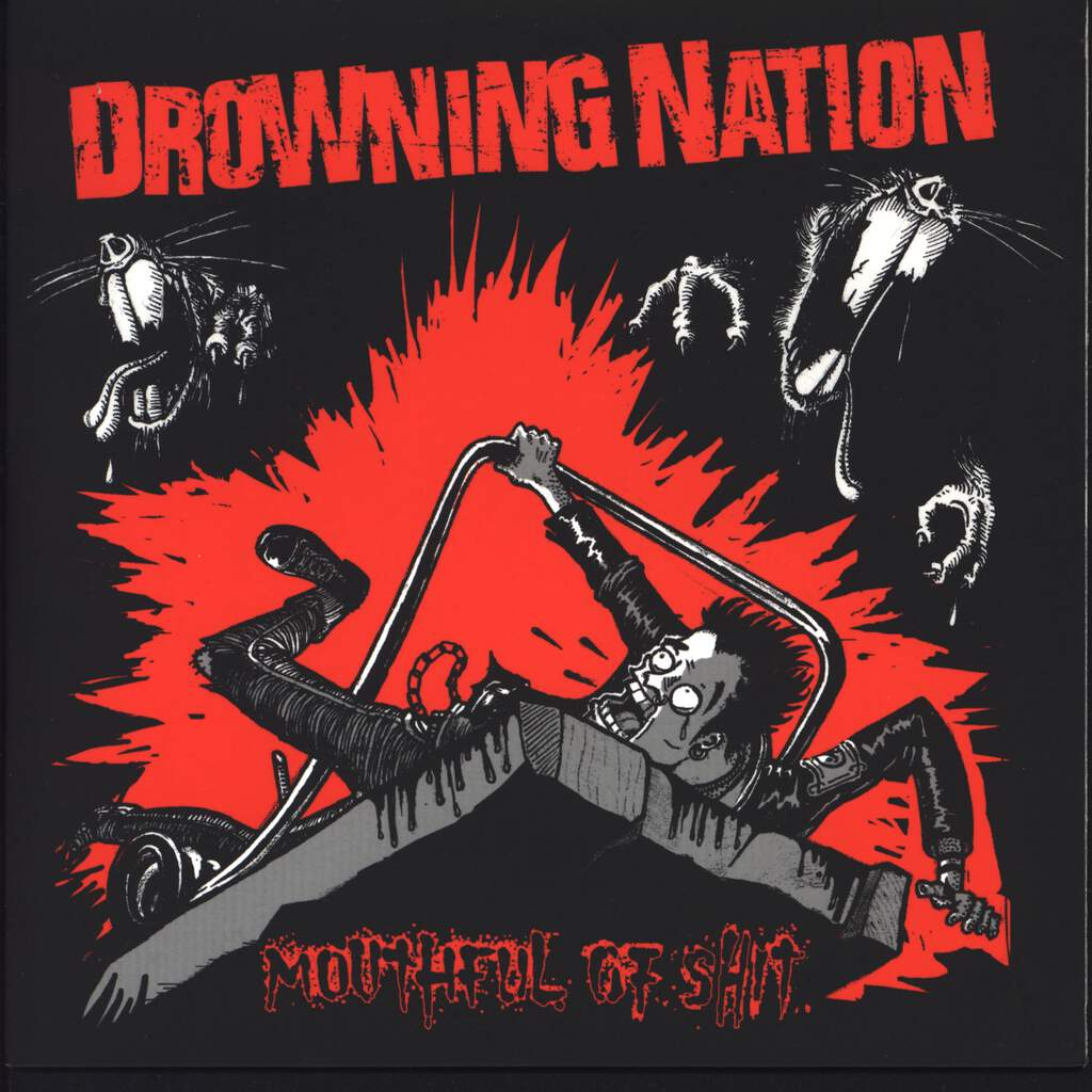 "Drowning Nation: Mouthful Of Shit, 7"" Single (Vinyl)"