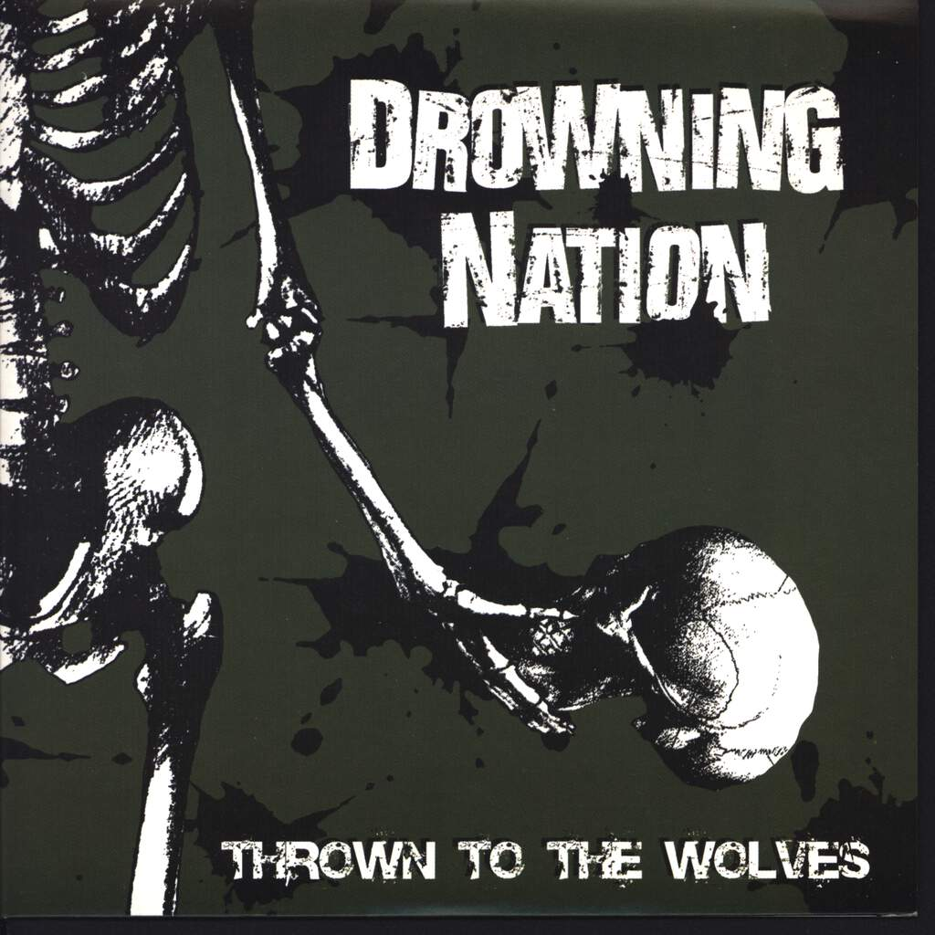 "Drowning Nation: Thrown To The Wolves, 7"" Single (Vinyl)"