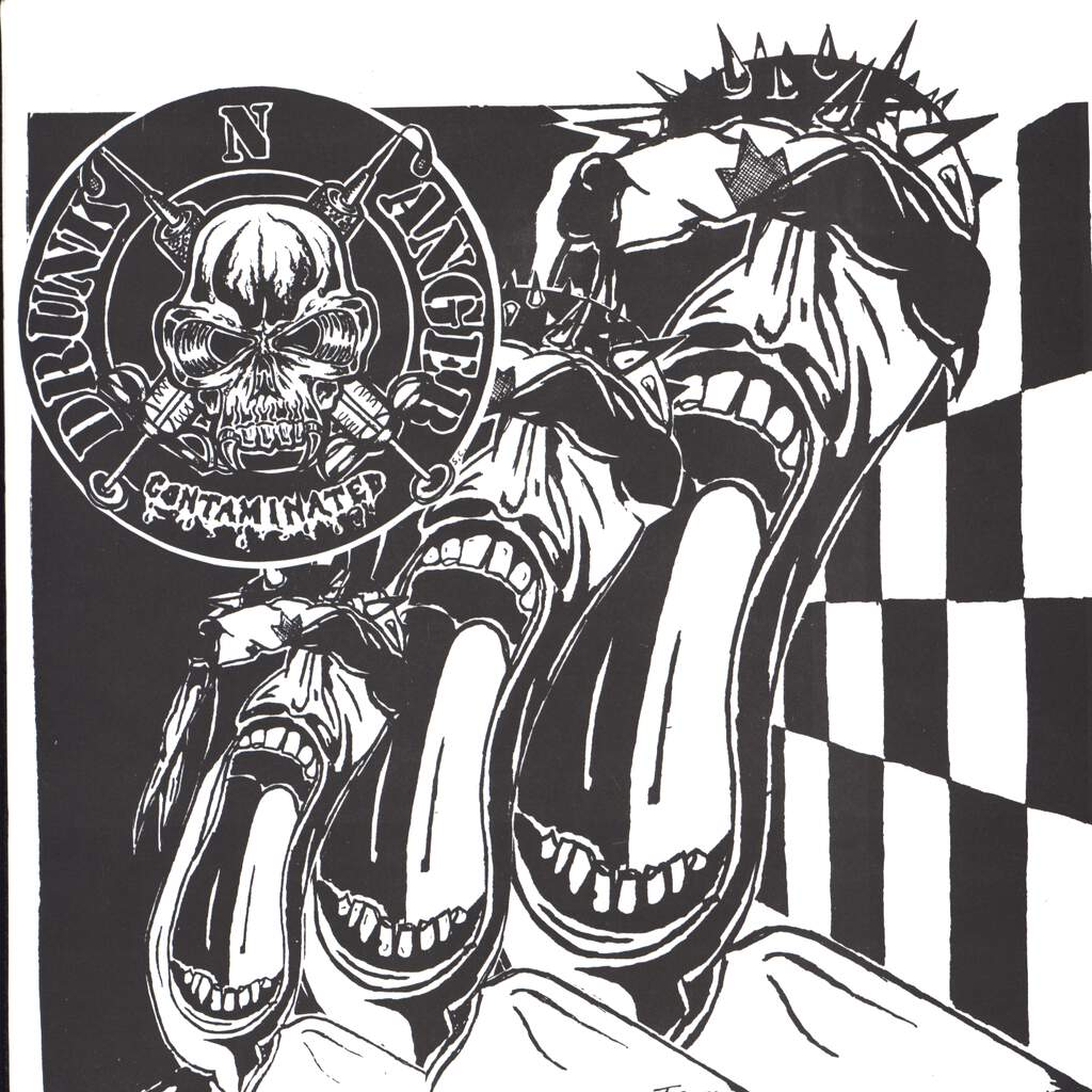 "Drunk 'N Anger: Contaminated / Canadian Hardcore, 7"" Single (Vinyl)"