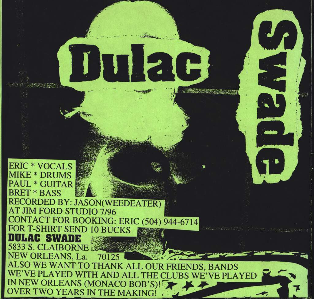 "Dulac Swade: Nickel, 7"" Single (Vinyl)"