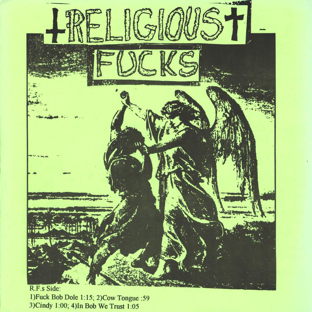 "Religious Fucks: Religious Fucks / Ecostench, 7"" Single (Vinyl)"