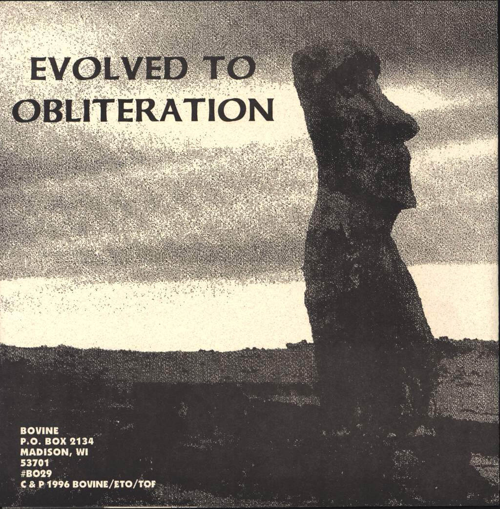 "Evolved To Obliteration: Evolved To Obliteration / Taste Of Fear, 7"" Single (Vinyl)"