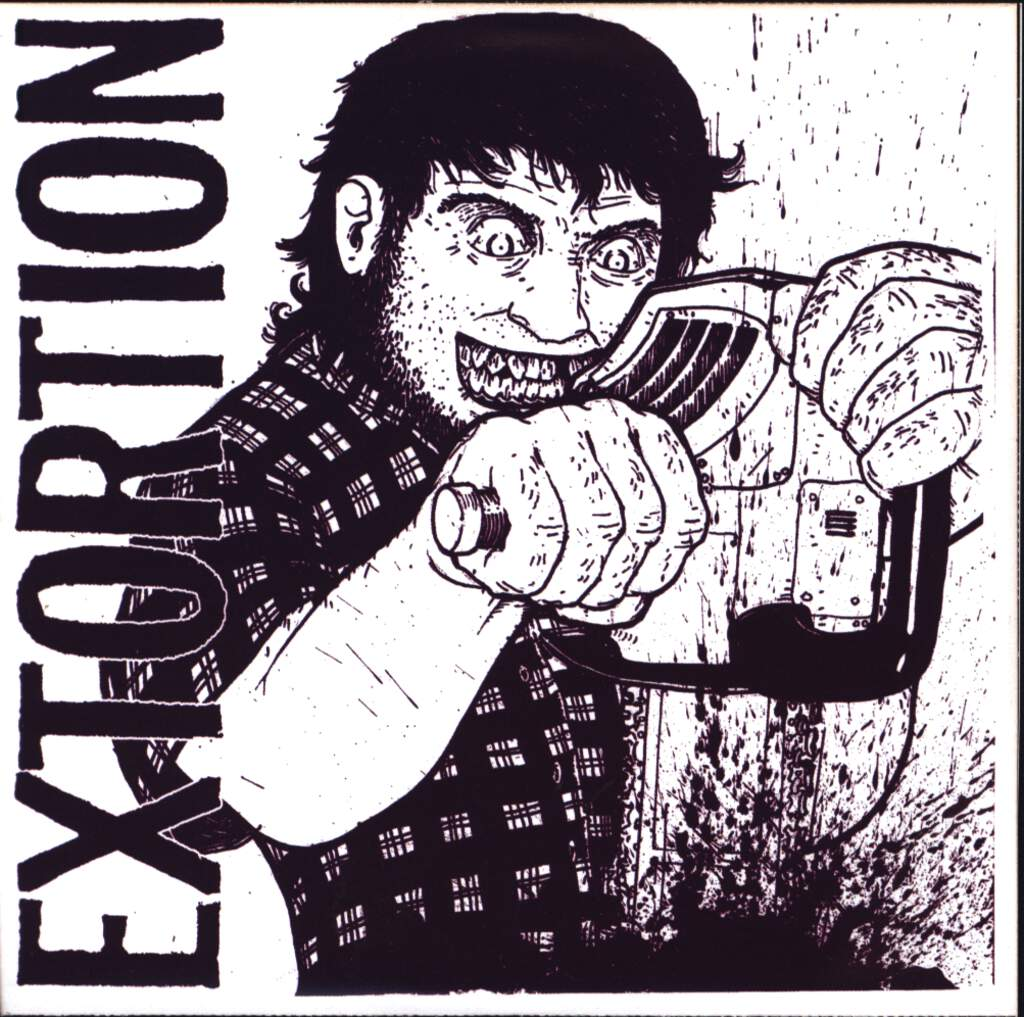 "Rupture: Do The Bonobo Bop! / Extortion, 5"" Vinyl Single"