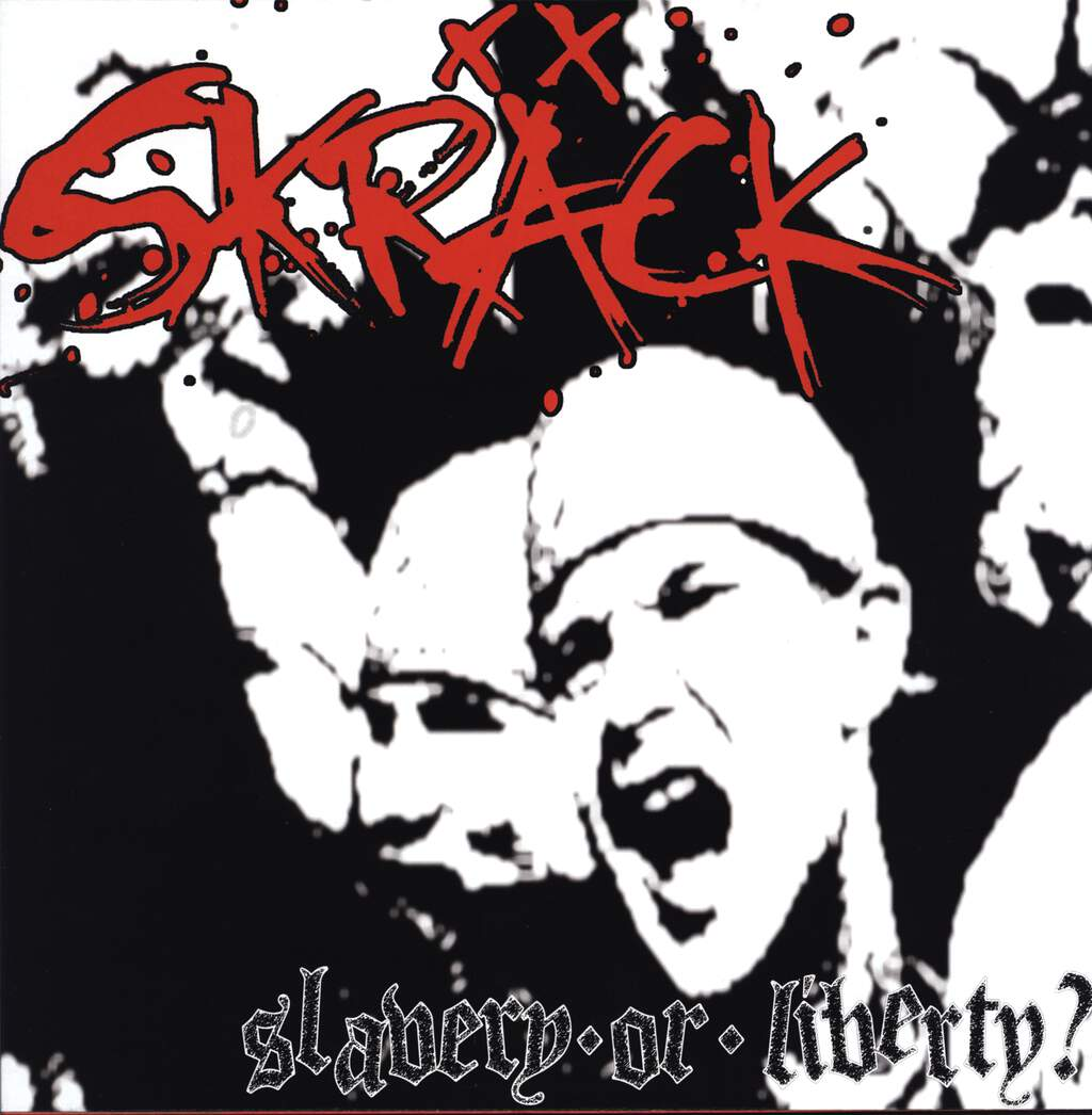 Skräck: Slavery Or Liberty? / Live At Hangar 110 - Sao Paulo - Brazil - November, 15th 2003, LP (Vinyl)