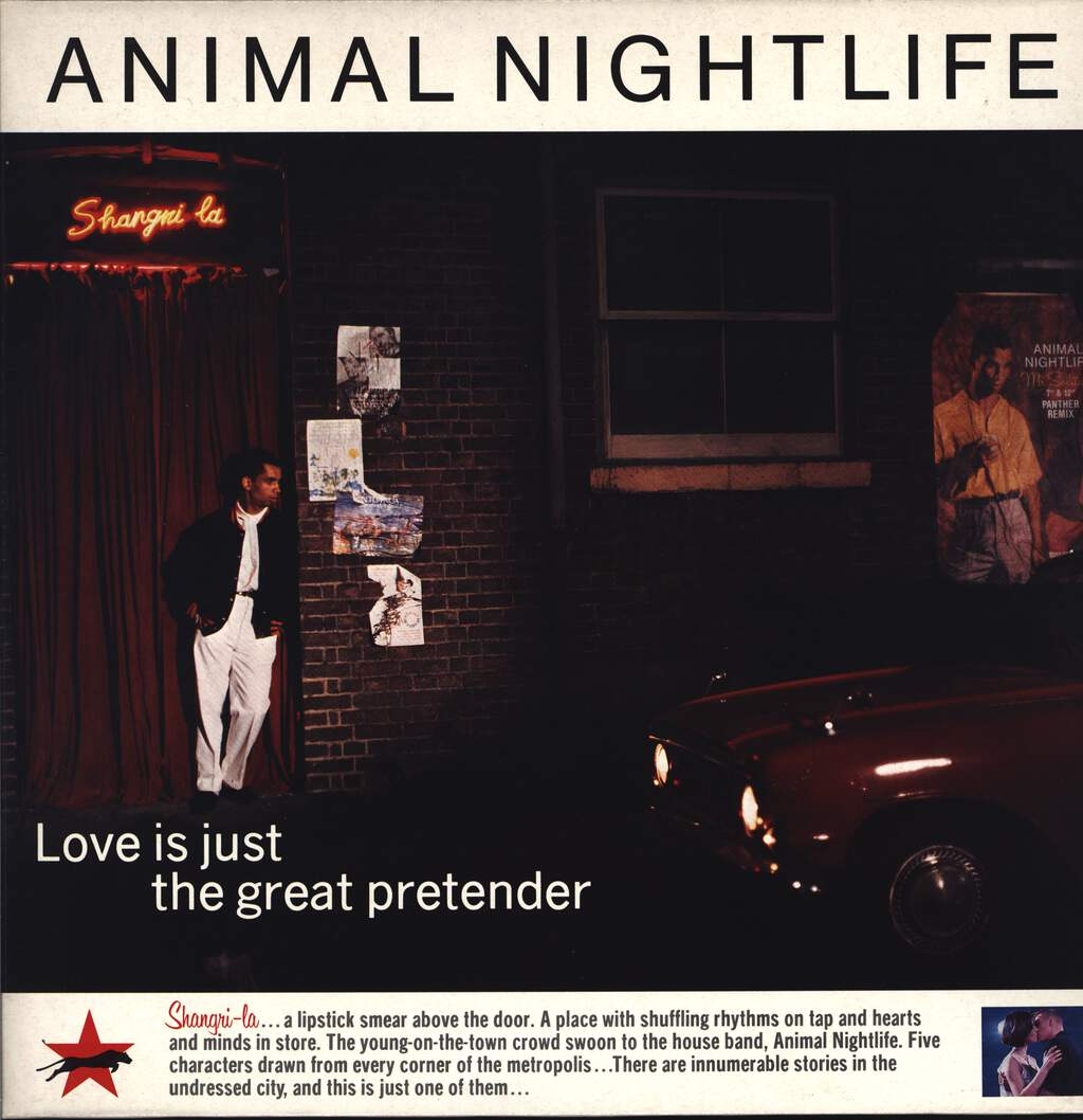 "Animal Nightlife: Love Is Just The Great Pretender, 12"" Maxi Single (Vinyl)"
