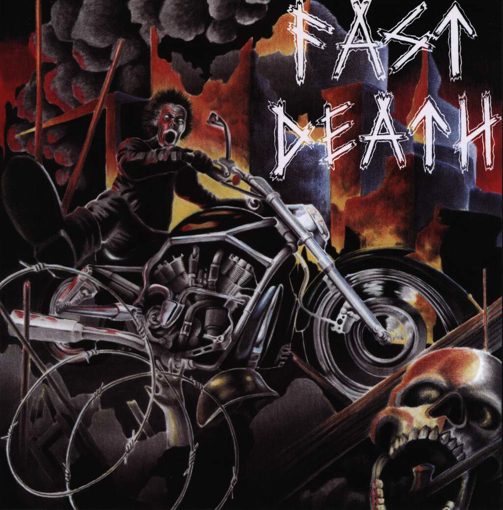"Fast Death: s/t, 7"" Single (Vinyl)"