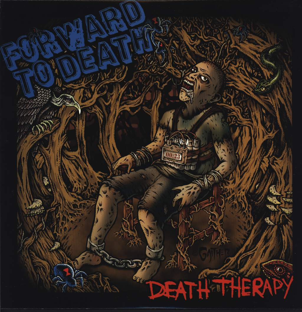 Forward To Death: Death Therapy, LP (Vinyl)