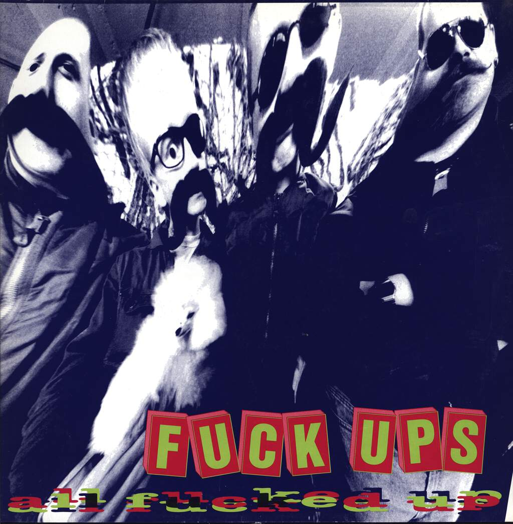 Fuck-Ups: All Fucked Up, Mini LP (Vinyl)