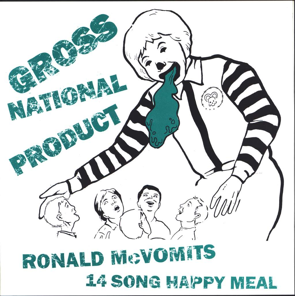 "Gross National Product: Ronald McVomit's 14 Song Happy Meal, 7"" Single (Vinyl)"