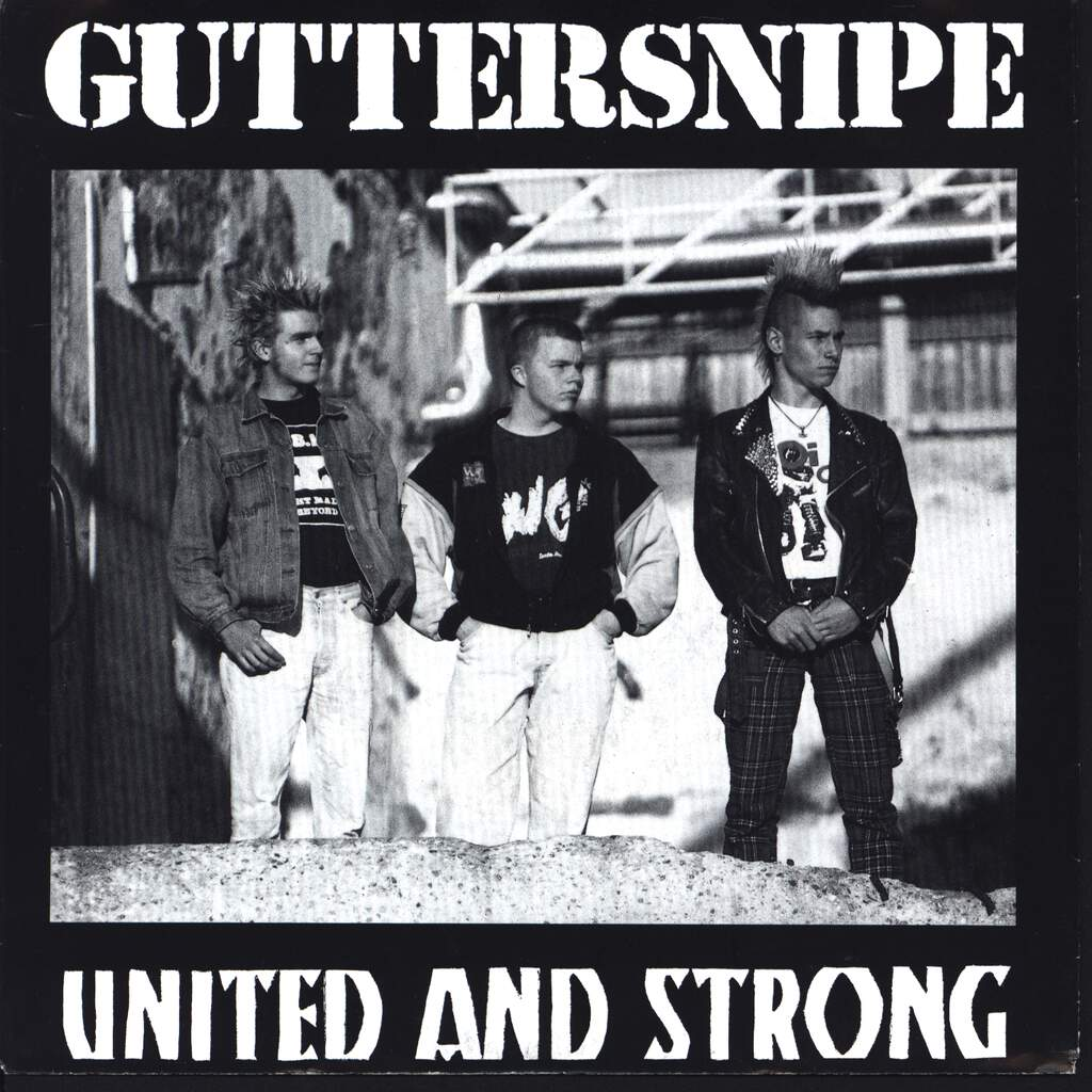 "Guttersnipe: United And Strong, 7"" Single (Vinyl)"