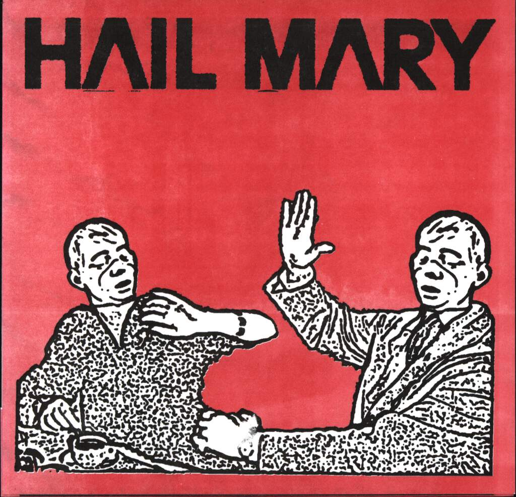 "The Red Scare: Hail Mary / The Red Scare, 5"" Vinyl Single"