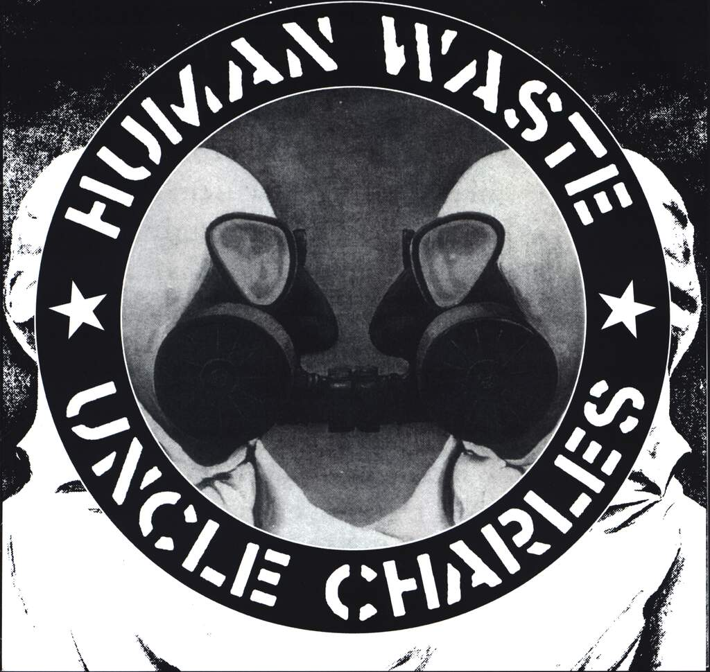 "Human Waste: Human Waste / Uncle Charles, 7"" Single (Vinyl)"