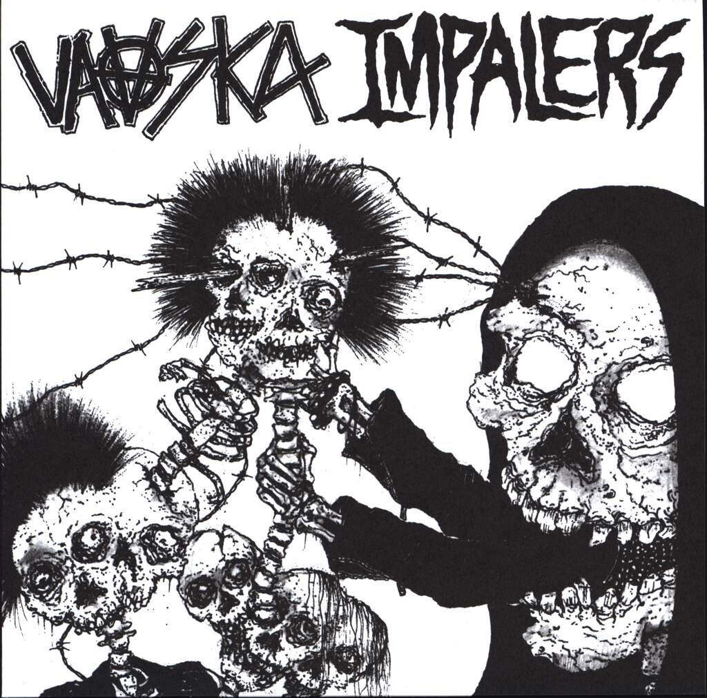 "Vaaska: Vaaska / Impalers, 7"" Single (Vinyl)"