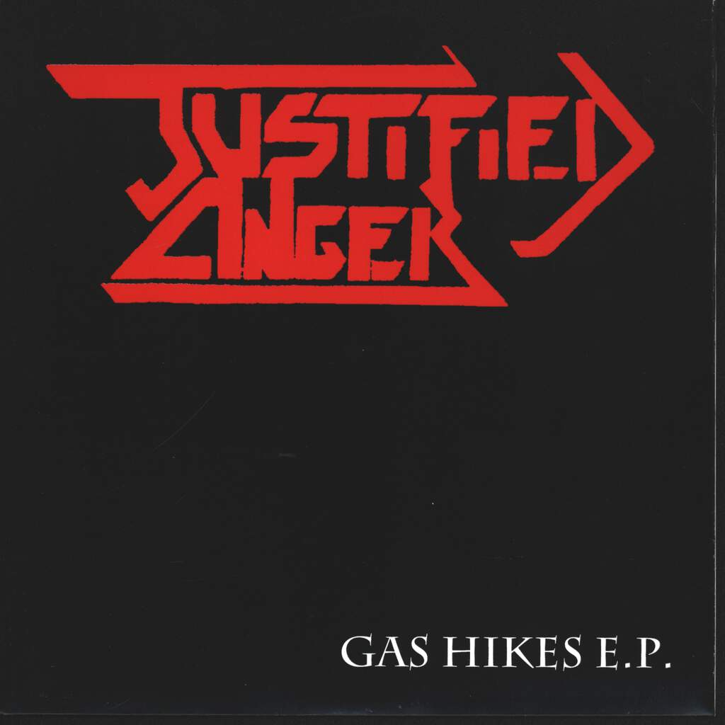 "Justified Anger: Gas Hikes E.P., 7"" Single (Vinyl)"