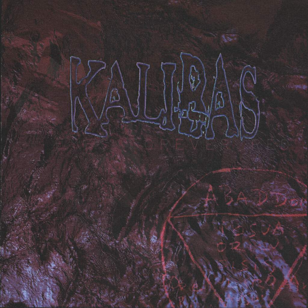 "Kalibas: Eyes Forever Red, 7"" Single (Vinyl)"