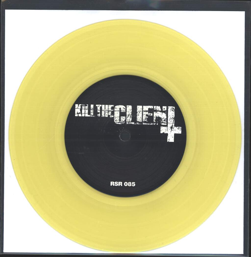 "Kill The Client: Kill The Client Vs Thousandswilldie, 7"" Single (Vinyl)"