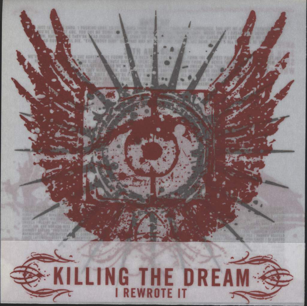 "Killing The Dream: I Rewrote It, 7"" Single (Vinyl)"