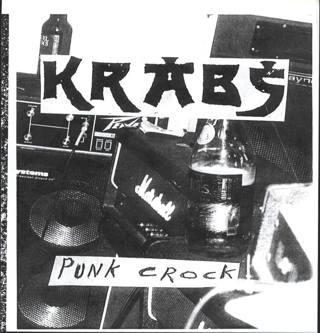 "The Krabs: Punk Crock, 7"" Single (Vinyl)"