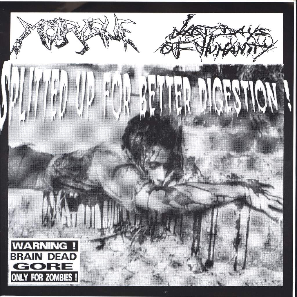 "Morgue: Splitted Up For Better Digestion!, 7"" Single (Vinyl)"