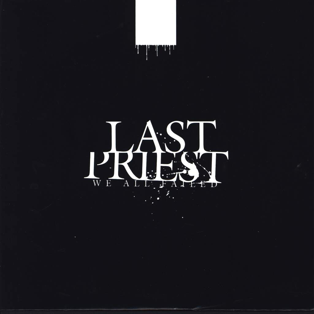 "Last Priest: We All Failed, 7"" Single (Vinyl)"
