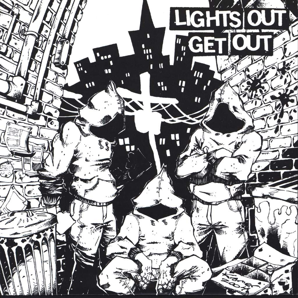 "Lights Out: Get Out, 7"" Single (Vinyl)"