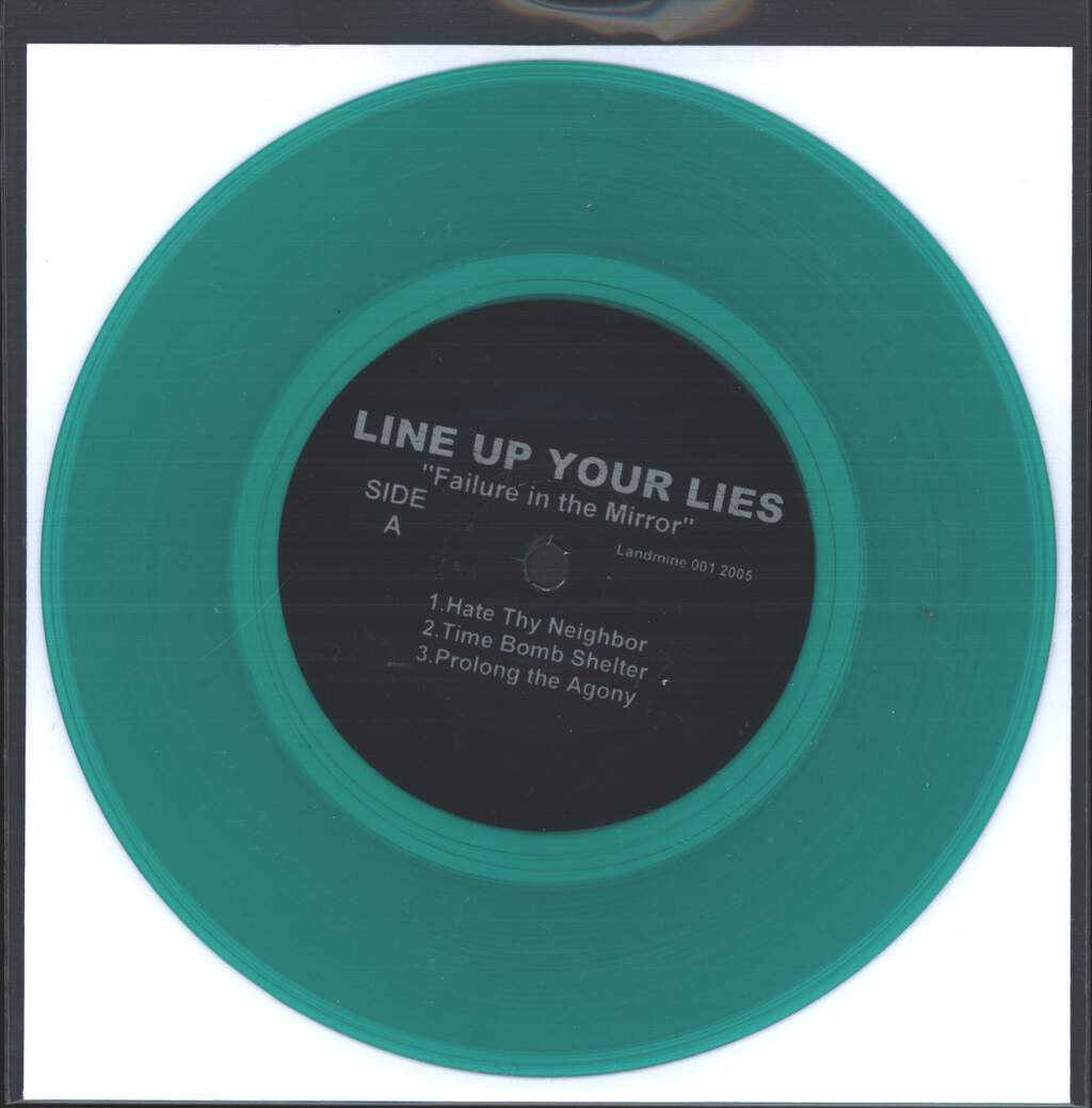 "Line Up Your Lies: Failure In The Mirror, 7"" Single (Vinyl)"