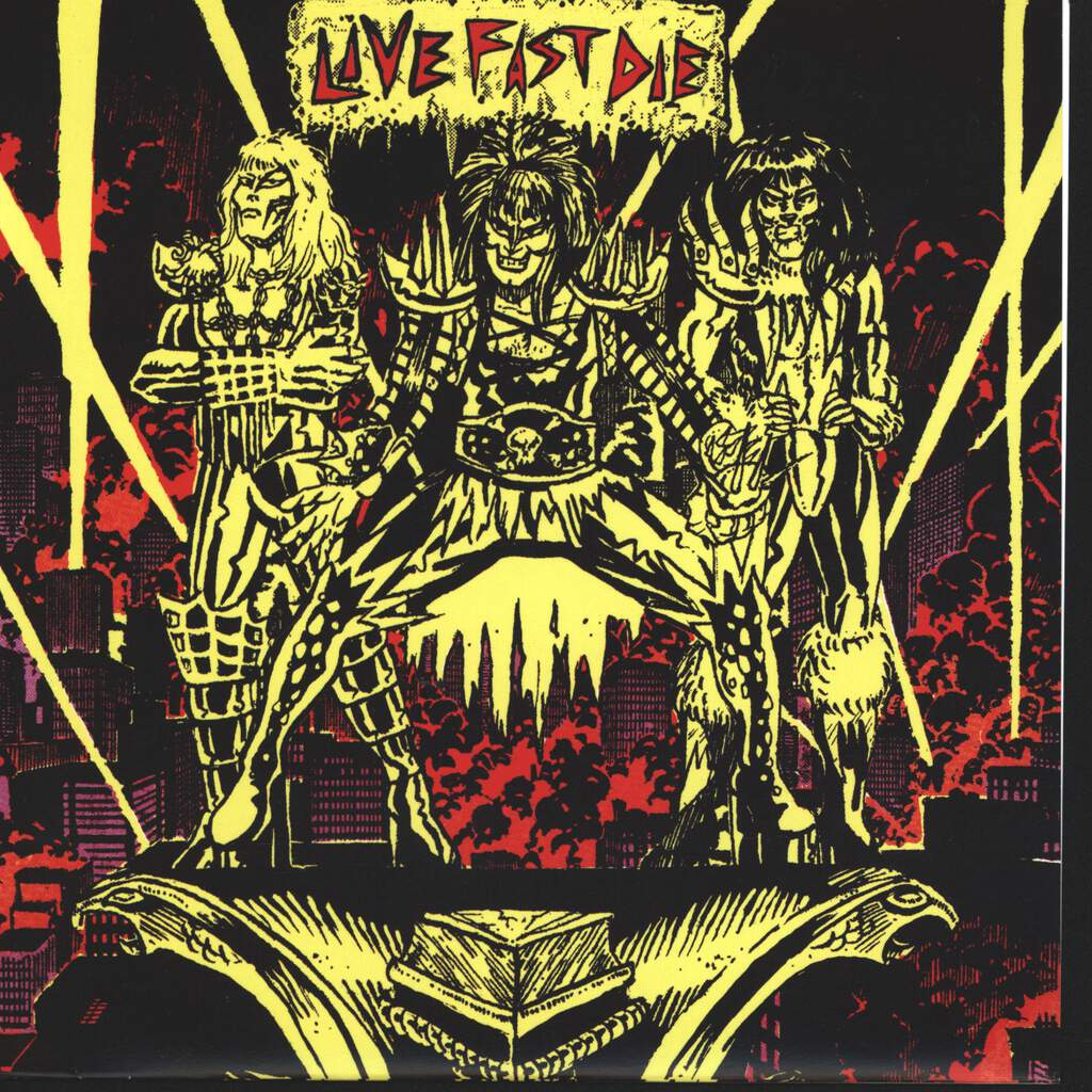 "Livefastdie: Pissing On The Mainframe, 7"" Single (Vinyl)"