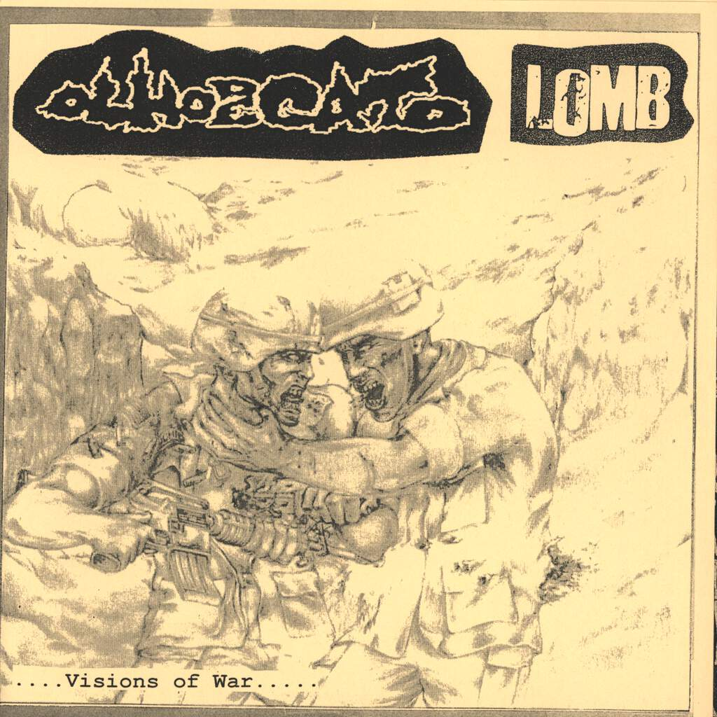 "Olho De Gato: ....Visions Of War..... ......Stench Of Gore...., 7"" Single (Vinyl)"