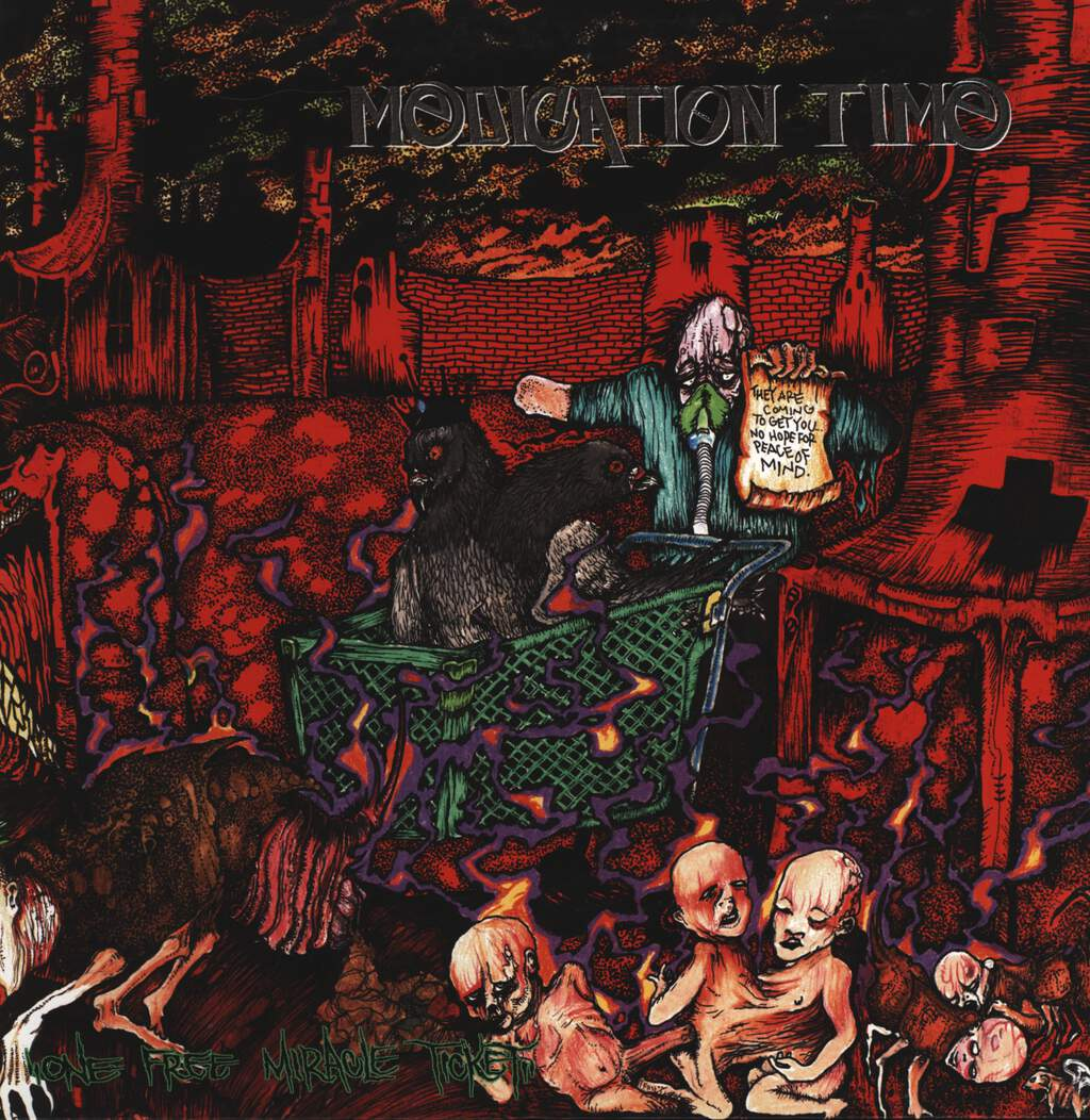 Medication Time: One Free Miracle Ticket, LP (Vinyl)
