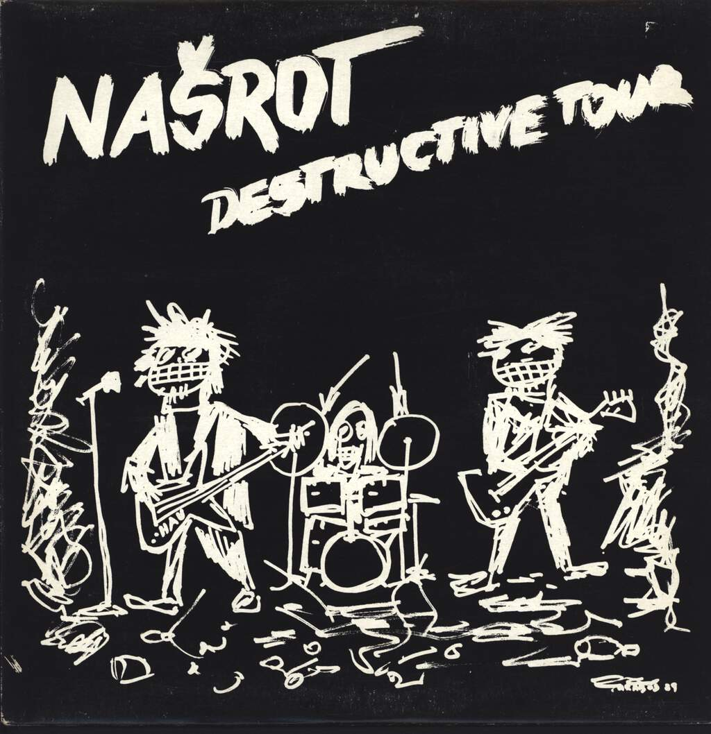 Nasrot: Destructive Tour, LP (Vinyl)