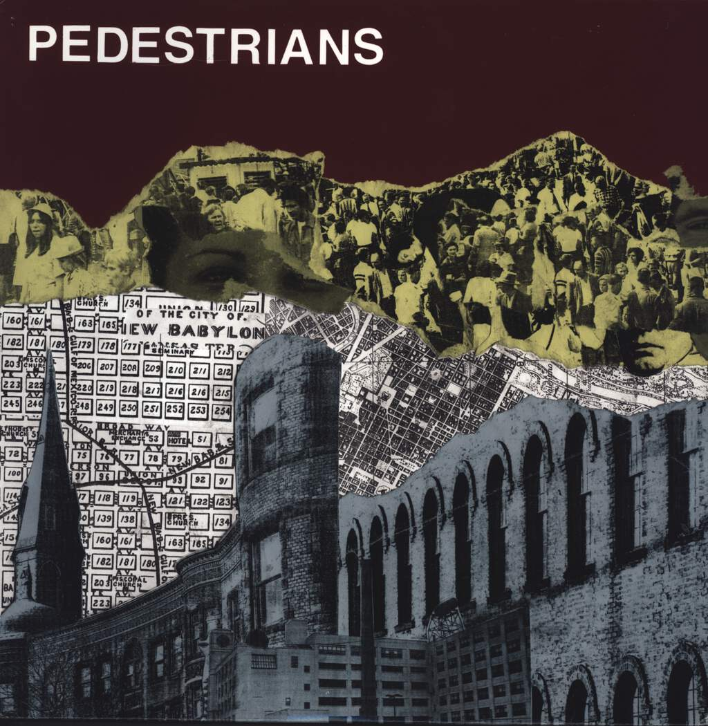 "Pedestrians: Ideal Divide, 12"" Maxi Single (Vinyl)"