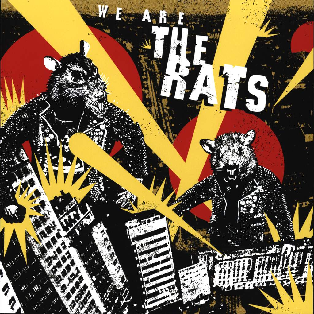 "The Rats: We Are The Rats, 7"" Single (Vinyl)"