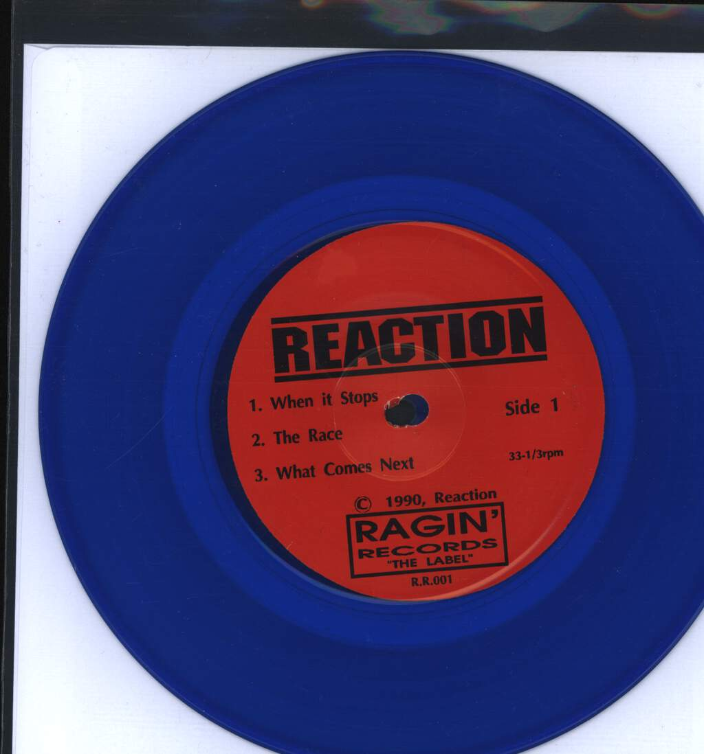 "Reaction: The End!, 7"" Single (Vinyl)"