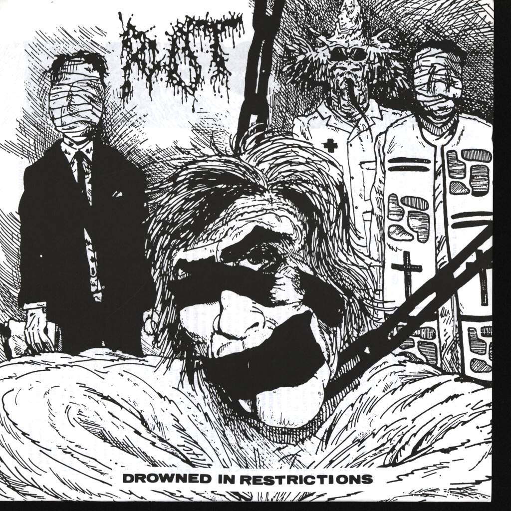 """Rot: Drowned In Restrictions, 7"""" Single (Vinyl)"""