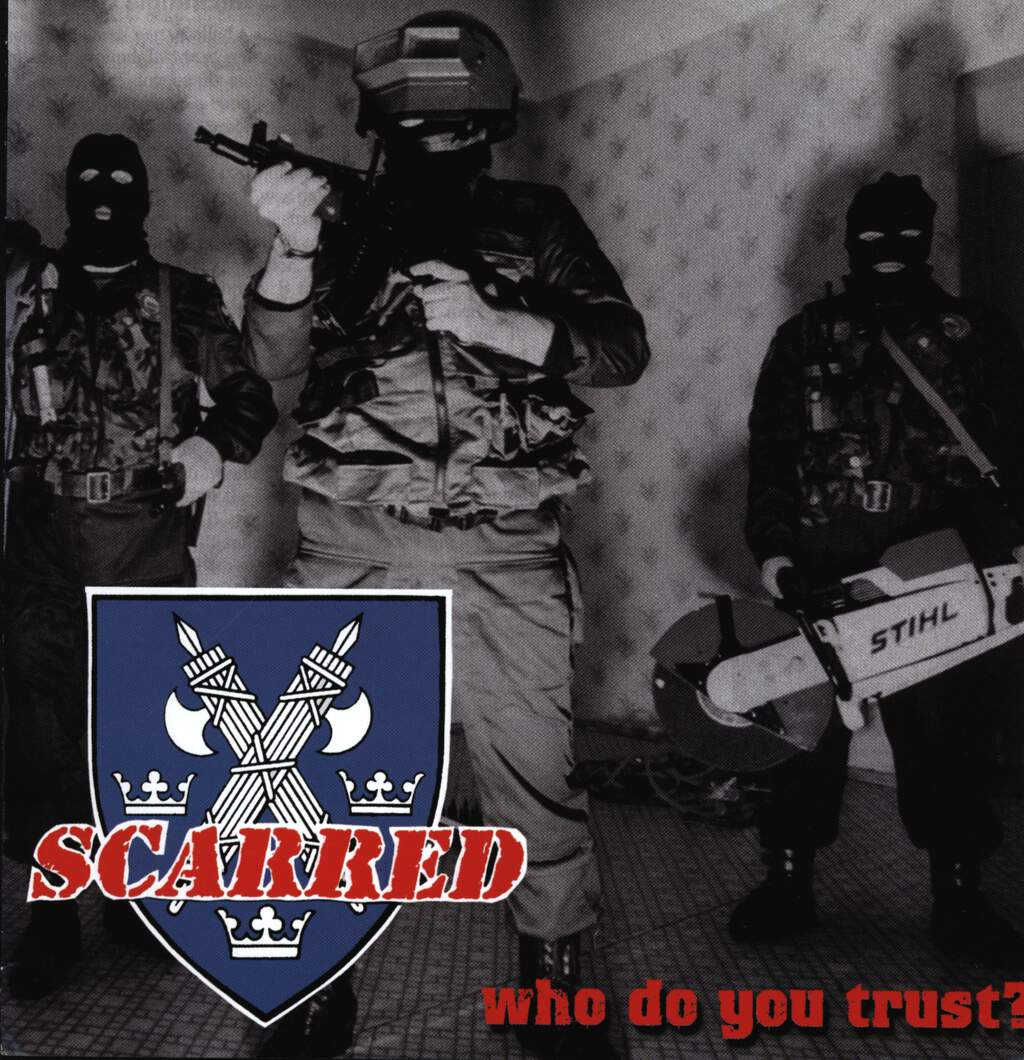 "Scarred: Who Do You Trust?, 7"" Single (Vinyl)"