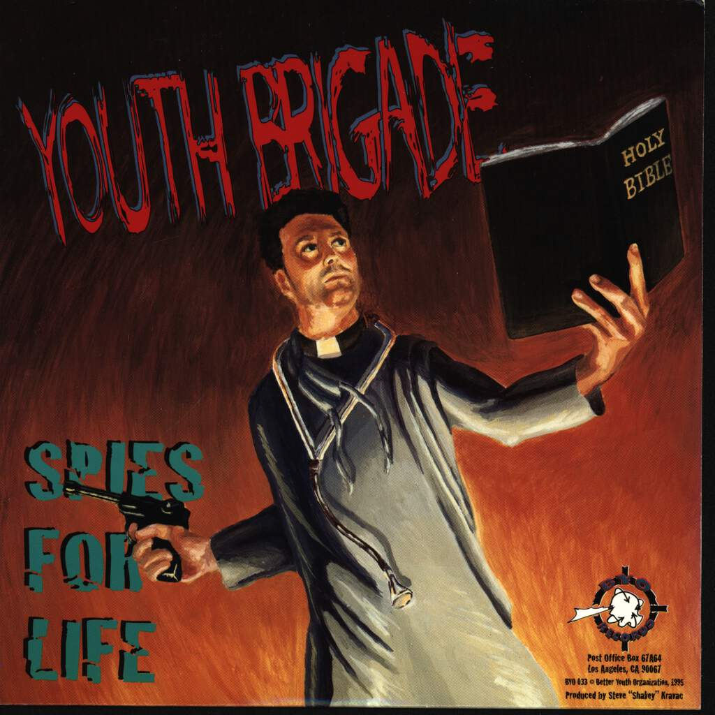 "Youth Brigade: Spies For Life / Blind Spot, 7"" Single (Vinyl)"