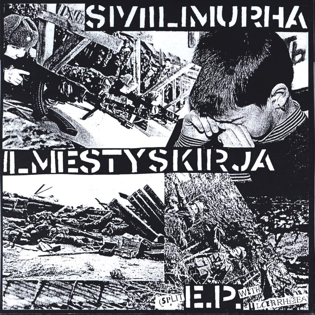 "Ulcerrhoea: Ilmestyskirja Split EP, 7"" Single (Vinyl)"