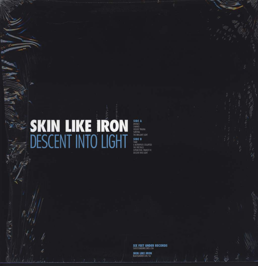 "Skin Like Iron: Descent Into Light, 12"" Maxi Single (Vinyl)"