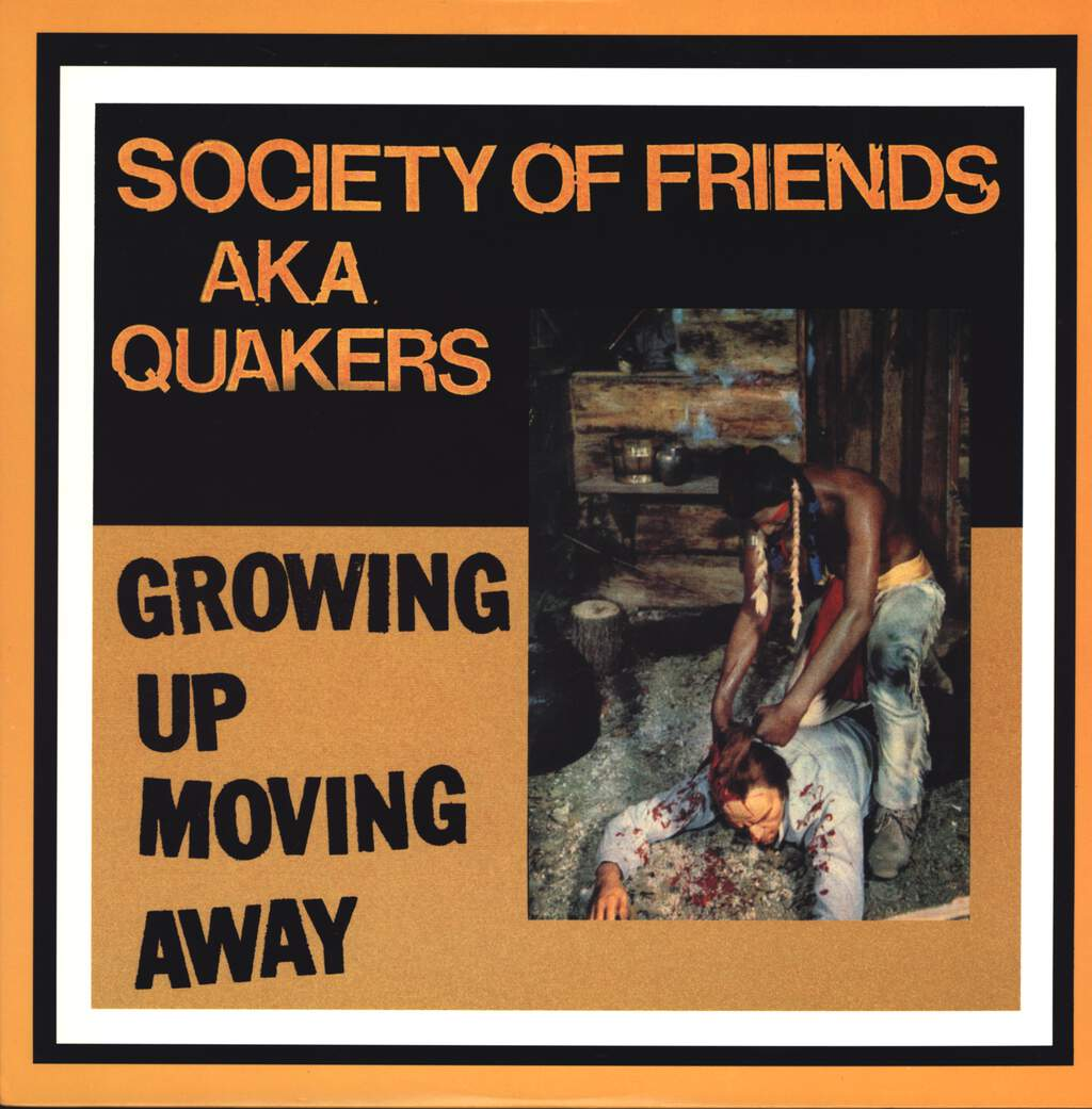 Society Of Friends: Growing Up, Moving Away, LP (Vinyl)