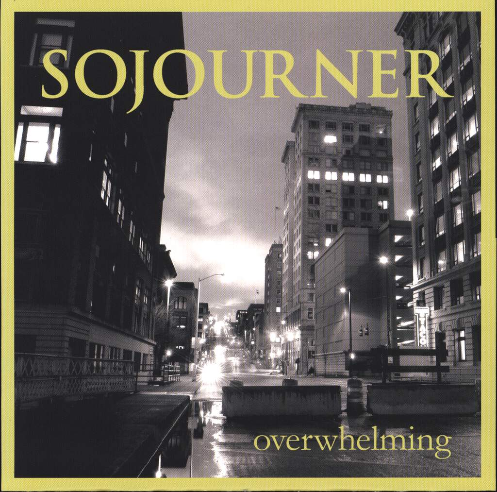 "Sojourner: Overwhelming, 7"" Single (Vinyl)"
