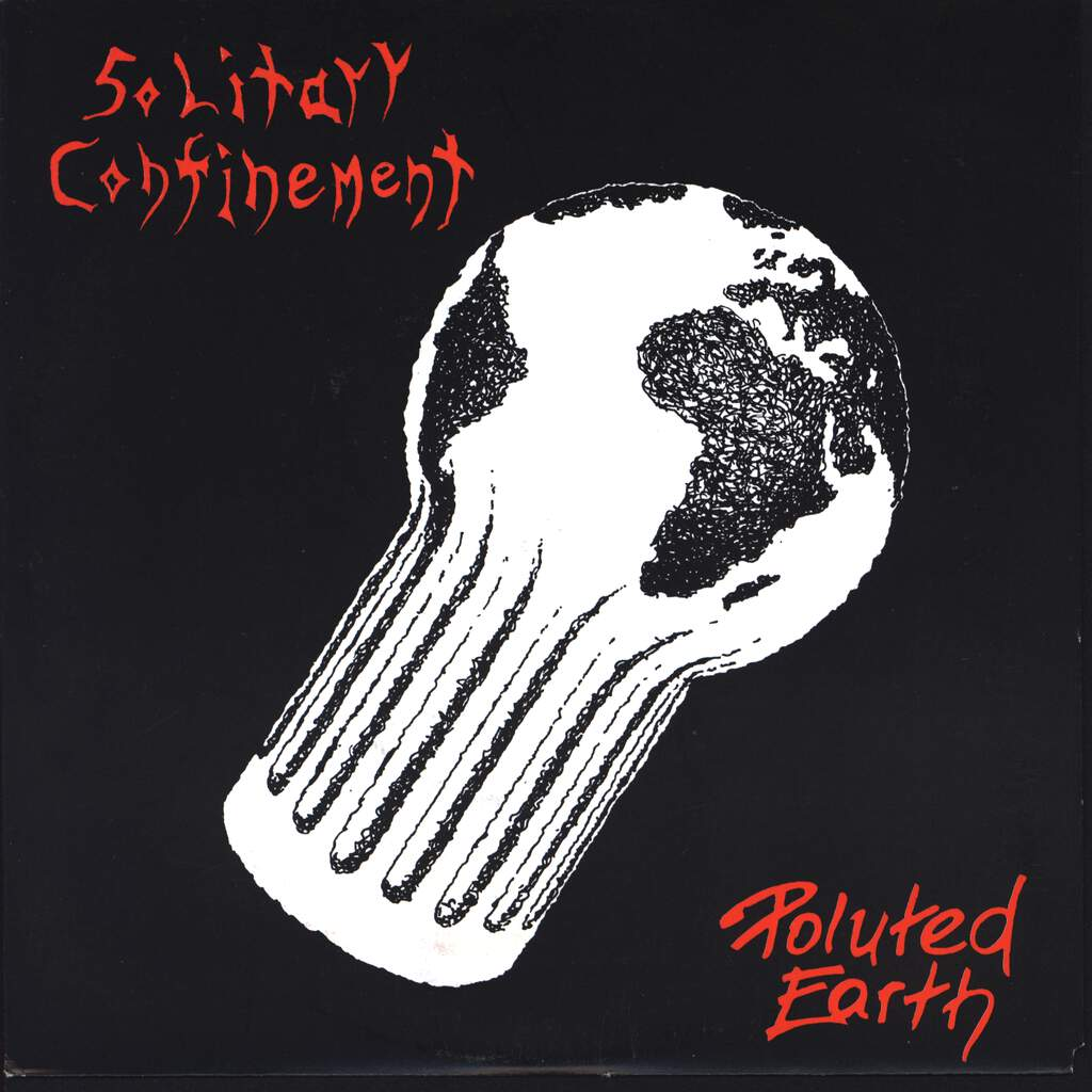 "Solitary Confinement: Poluted Earth, 7"" Single (Vinyl)"