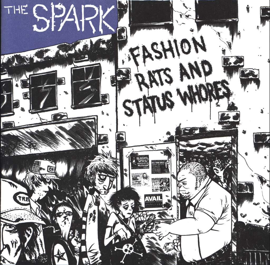 "The Spark: Fashion Rats And Status Whores, 7"" Single (Vinyl)"