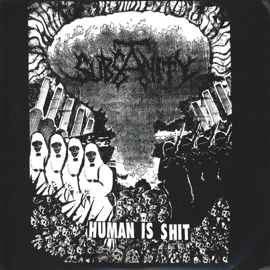 "Subsanity: Human Is Shit, 7"" Single (Vinyl)"